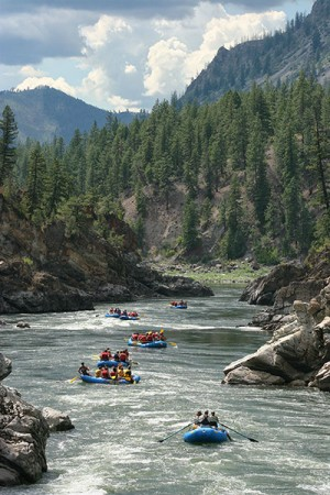 Whitewater Rafting Missoula The Alberton Gorge Lewis And