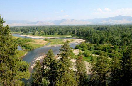 Clark Fork River float Missoula