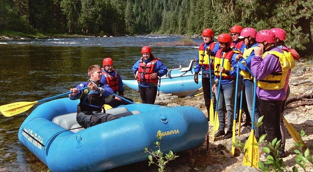 Lochsa River saftety talk