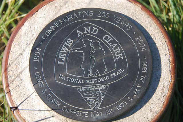 Missouri Lewis Clark Camp Marker