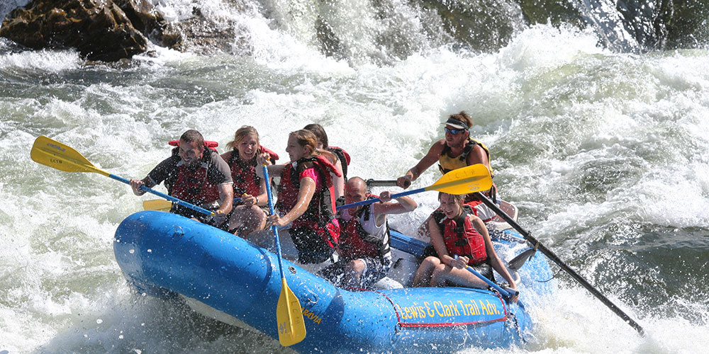 Image result for Rafting in One of Its Many Rivers