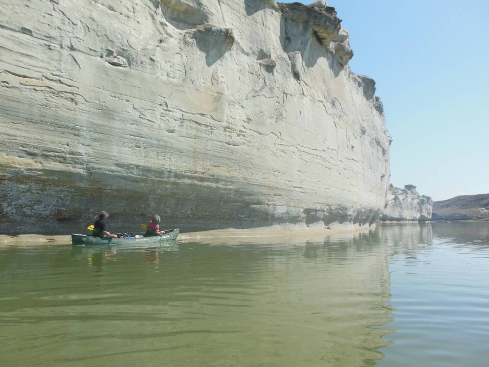 Upper Missouri River Canoe Trips in Montana - Lewis and