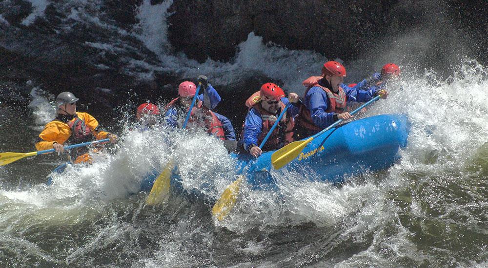 Lochsa River Rapids