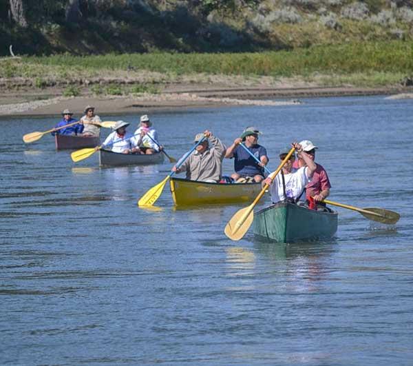 Missouri River Canoeing