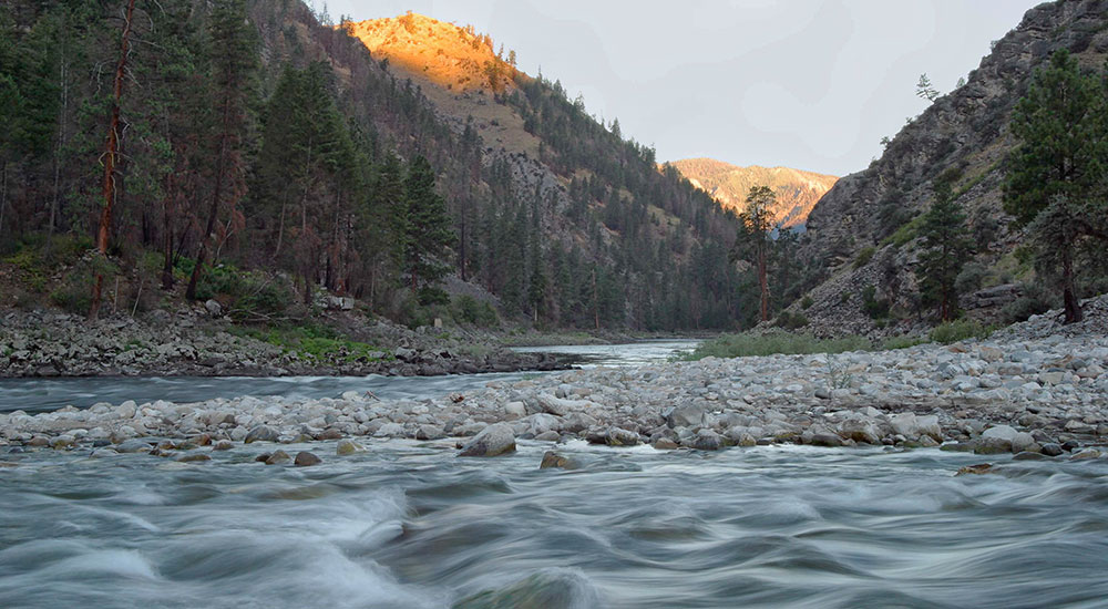 Salmon River Horse Creek confluence